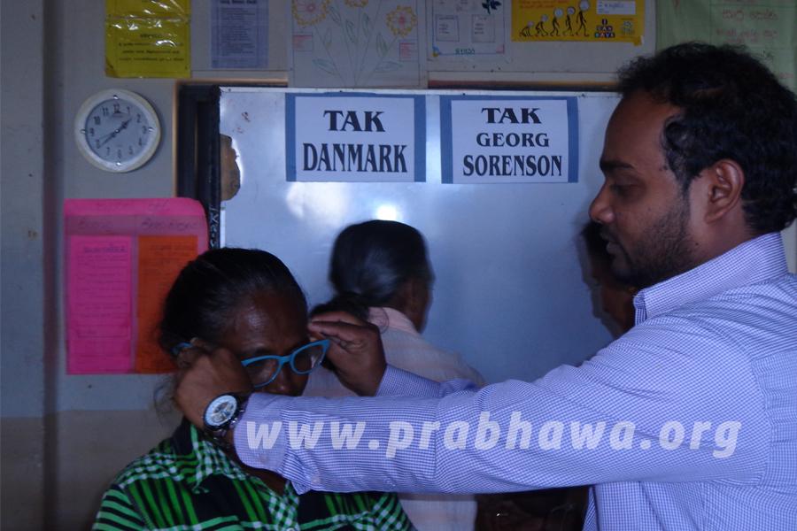 prabhawa Spectacles Donation- Welanhinna